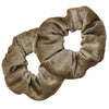 Velvet Scrunchies 2 Pack Tan
