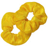 Velvet Scrunchies 2 Pack Yellow