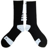 Socks Pair Black and White