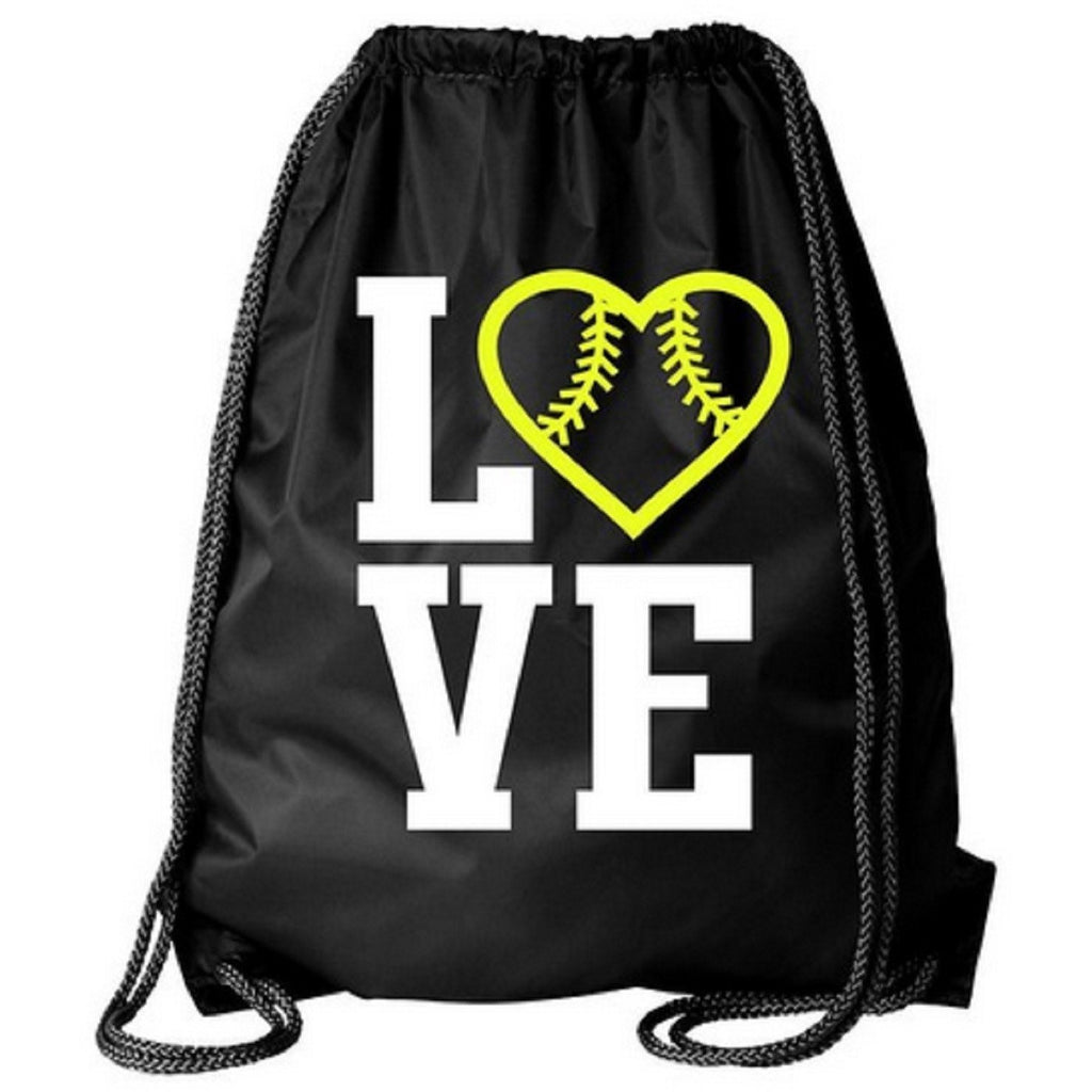 Cinch Drawstring Bag Softball Gifts for Girls