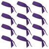 Tie Back Headbands 12 Moisture Wicking Athletic Sports Head Band You Pick Colors & Quantities