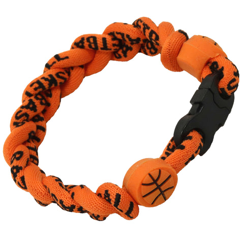 Basketball Bracelet Titanium Braided Sports Power Wristlet
