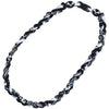 Lacrosse Necklace Titanium Braided Sports Power Necklace