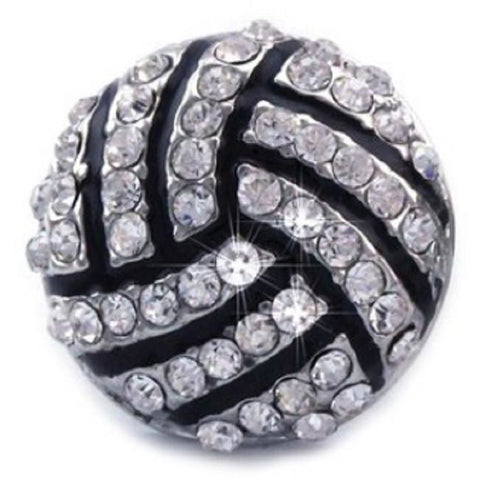 Volleyball Ring Rhinestone