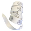 Volleyball Ribbon White 5 Yards to use for Ponytail Holders Streamers on Your Bag to Show Spirit or Crafts