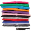Wide Cotton Headbands 12 Soft Stretch Headband Sweat Absorbent Elastic Head Bands