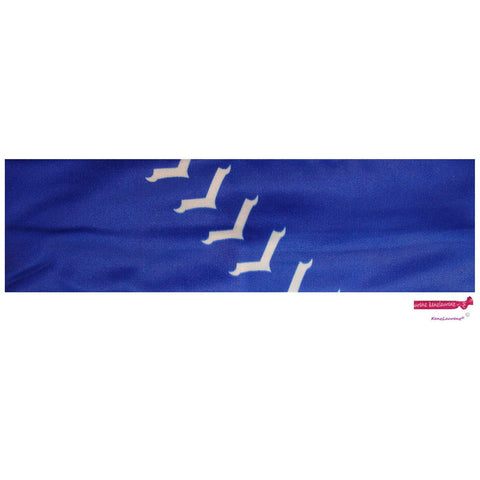 Performance Headband Softball Blue