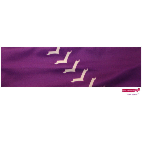 Performance Headband Softball Purple
