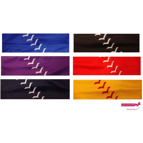 Performance Headbands Softball Assorted 6 Pack