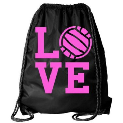 Cinch Drawstring Bag Volleyball