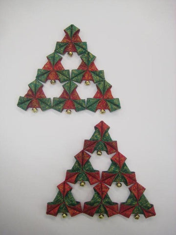 Christmas Triangles sewing pattern on Craftsy