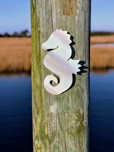 Mini-Seahorse Wooden Decor - FruluWaterproofblanketwithsides