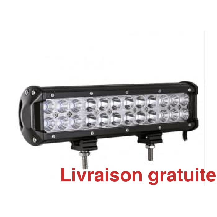 Barre de lumière 72 Watts / Led light bar 12 inch
