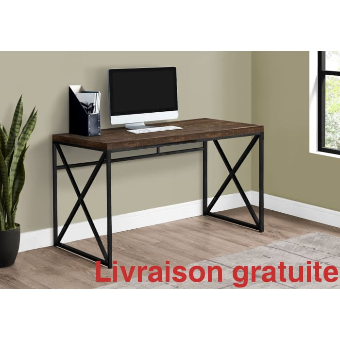 Bureau ordinateur 48 pouces  / Computer Desk - Sports500.com