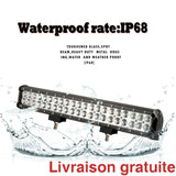 Lumière Del 48 Watts 22.6pouces / 22.6 inch Led light bar - Sports500.com