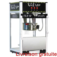 Machine a popcorn 16 onces noir / Popcorn Machine Tabletop - Sports500.com