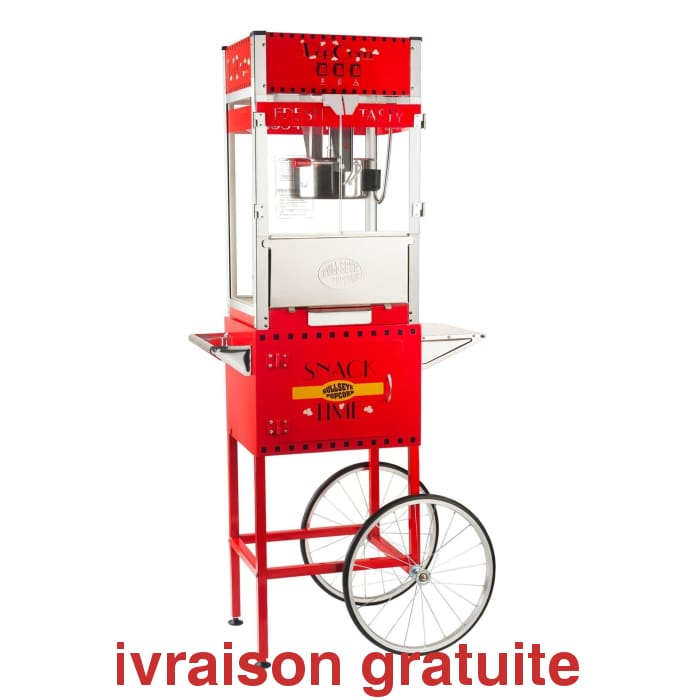 Machine à Popcorn 16 onces rouge / Popcorn Machine - Sports500.com