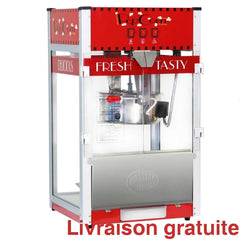 Machine a popcorn 16 onces rouge / Popcorn Machine Tabletop - Sports500.com