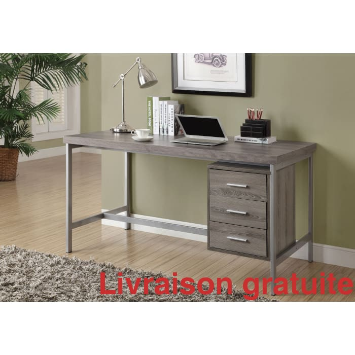 "Meuble de bureau 60""  /  Office Desk - Sports500.com"