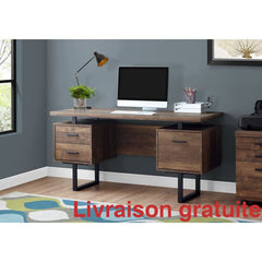 Meuble de bureau 60 pouces  /  Office Desk - Sports500.com