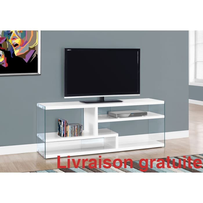 Meuble moderne 60 '' large  /  Television Stand