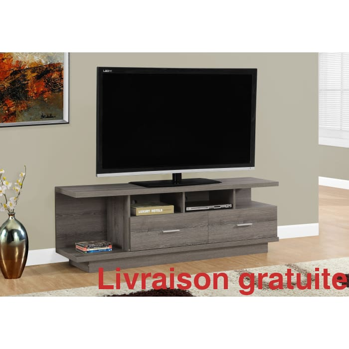 "Meuble TV, 60""L  /  60 inch TV stand - Sports500.com"