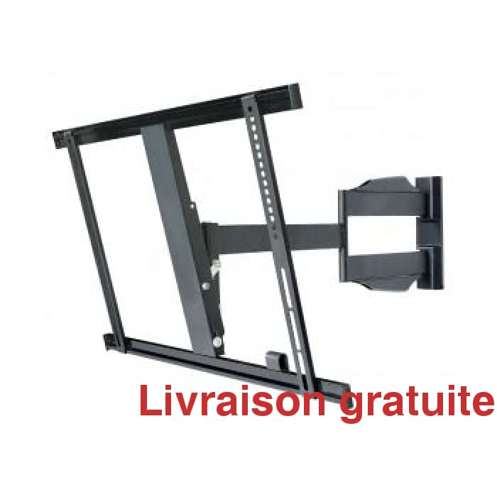 Support a TV articulé a profile mince / Articulating TV Bracket low profile - Sports500.com