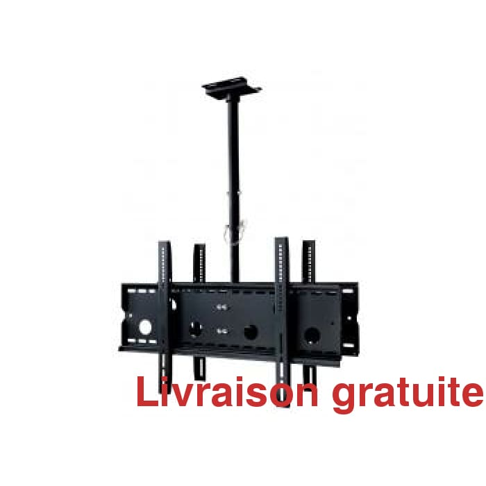 Support de plafond pour 2 TV / Ceiling Mount Bracket for 2 TV, - Sports500.com
