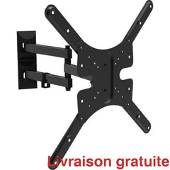 Support mural articulé / Full-Motion TV Wall Mount Bracket - Sports500.com