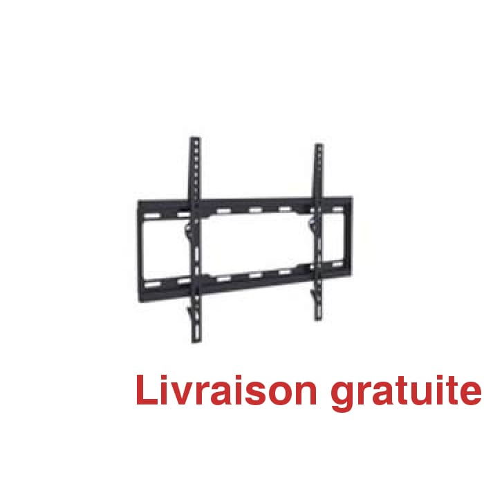 Support mural fixe très mince / Low profile tv bracket - Sports500.com