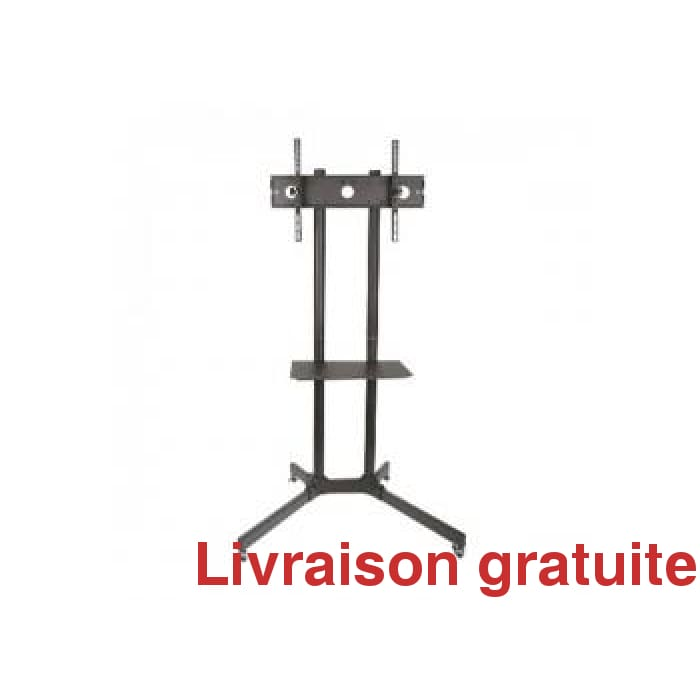 Support  TV sur roulettes / Floorstand bracket on wheels - Sports500.com
