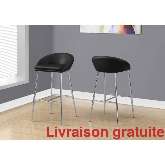Tabouret de Bar 2Pcs /  Barstool - Sports500.com