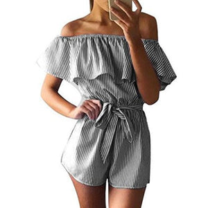 Pencil Line Romper - The Project Fashion
