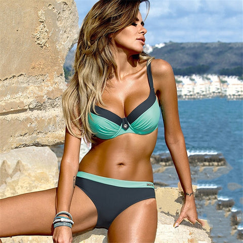 Slay Blue Bikini - The Project Fashion