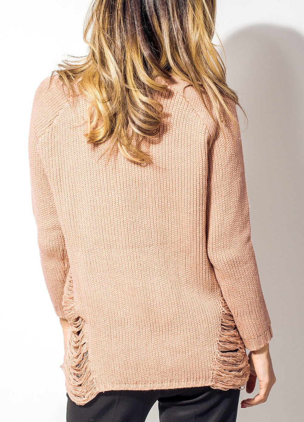 Dirty Pink Sweater