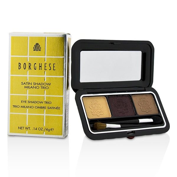 Borghese Satin Shadow Milano Trio - Doll Me Up Box