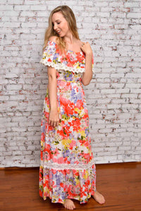 Oh the Places You'll Bloom Maxi Dress