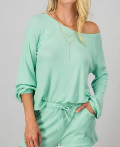 Stay At Home Loungewear Top