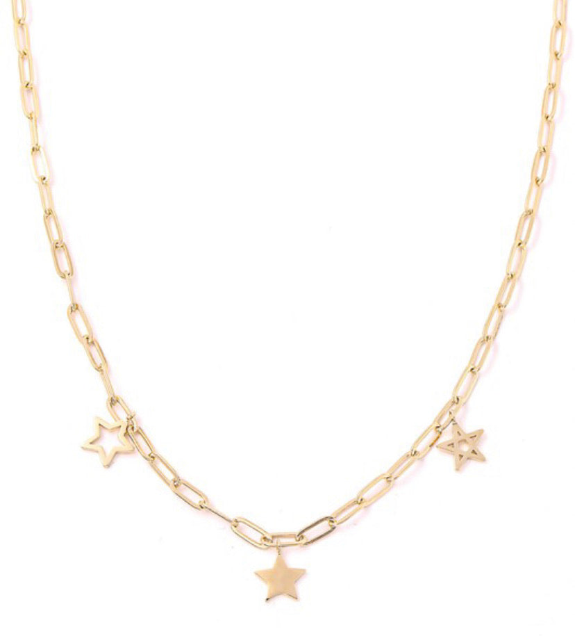 Chain of Stars Necklace