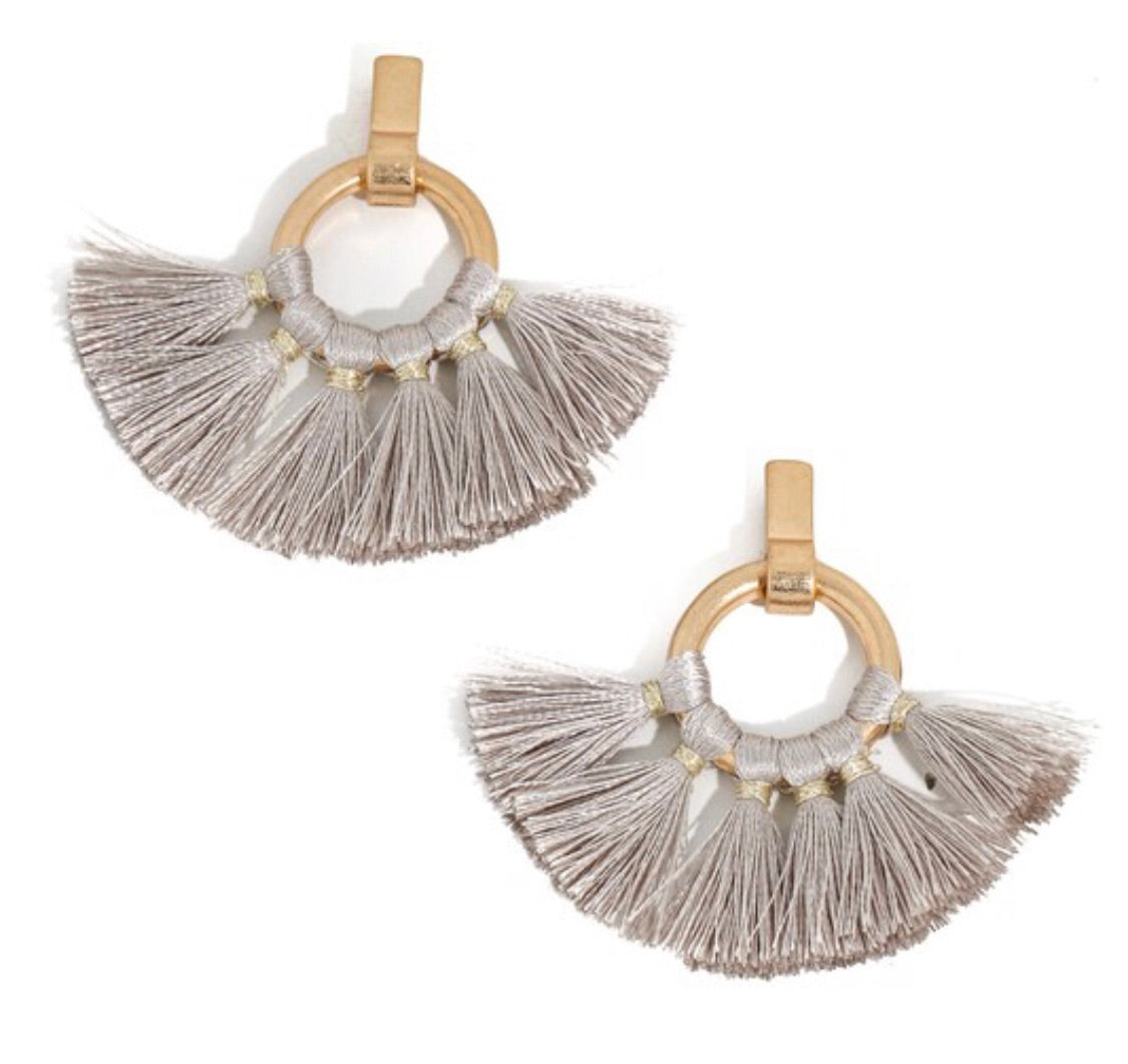 Fan by the Bay Earrings
