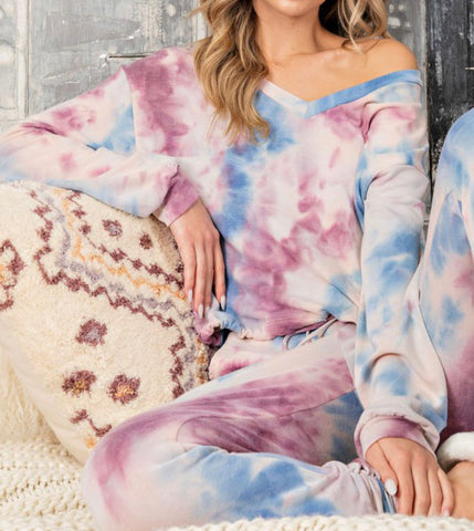 Cotton Candy Dreams Loungewear Top