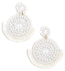 Dream in White Earrings