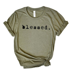 Blessed Never Stressed Tee