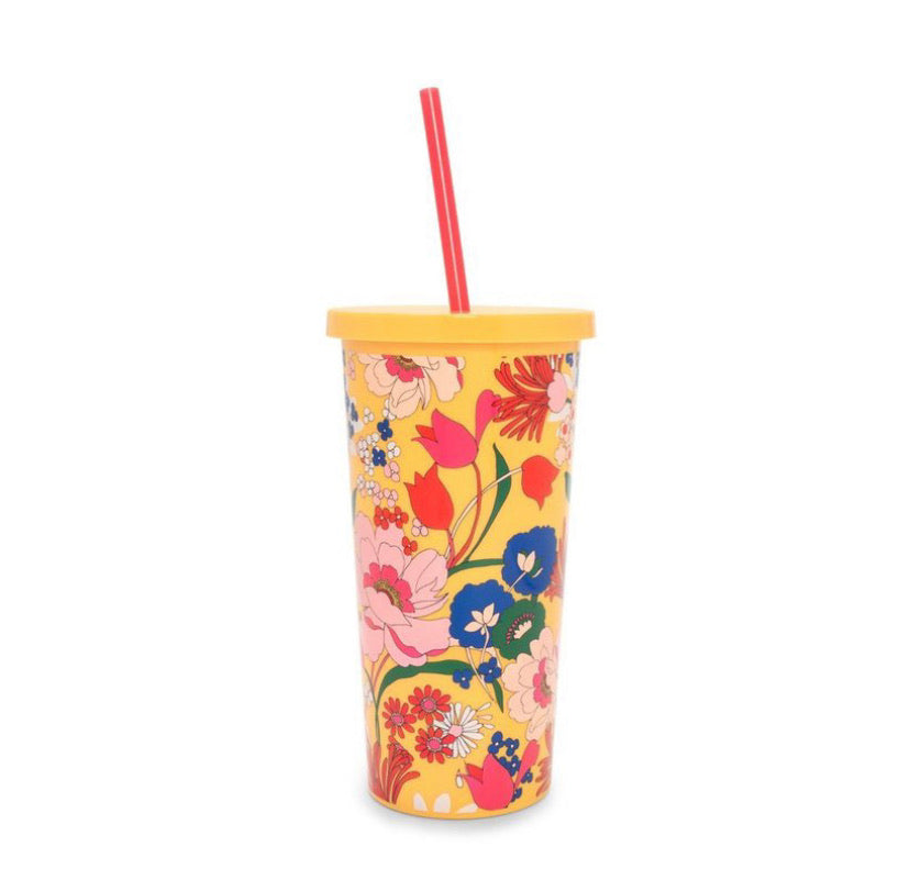 Yellow Blooms Tumbler