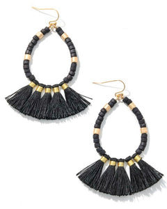 Black Sands Earrings