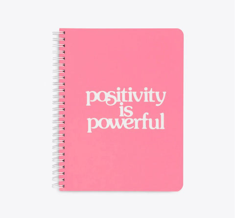Positivity is Powerful Mini Notebook