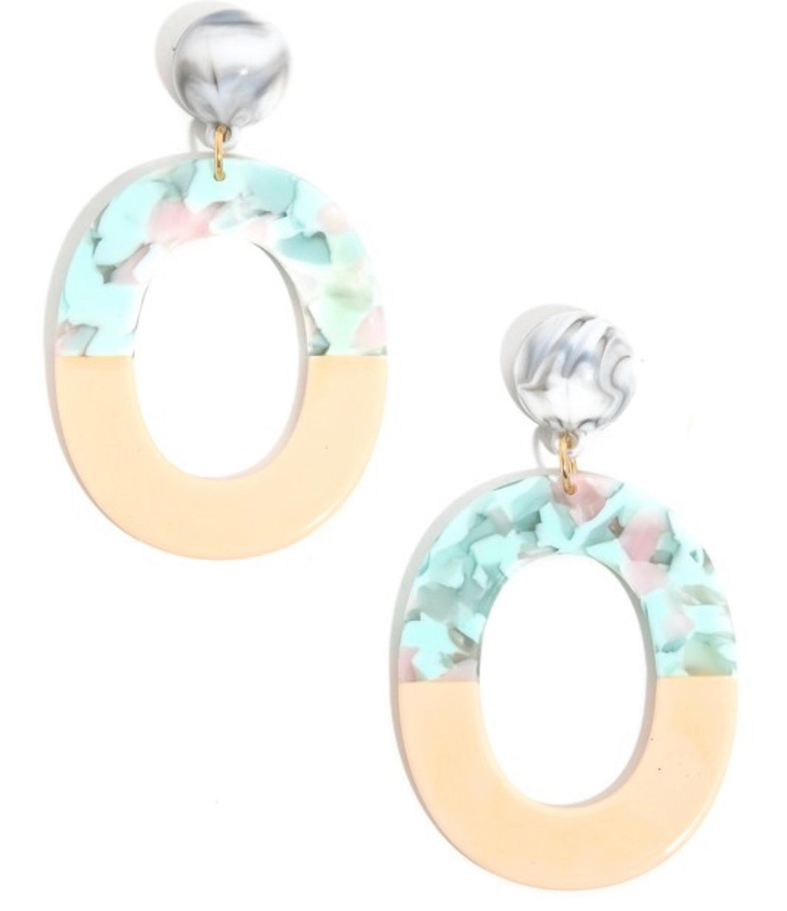 Mint to Be Earrings