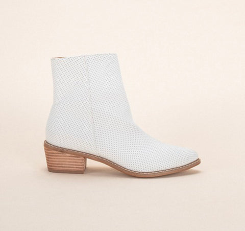 Ellipsis Bootie