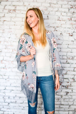 Cool Your Escape Kimono