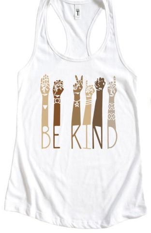 Be Kind Tank Top - 100% of profit donated to Equal Justice Initiative